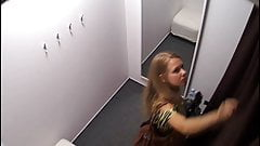 Hot Blonde Teen On Changing Room Spy Cam