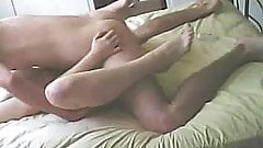 Slut Cheating Wife fucking on Hidden Cam while hubby away