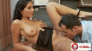Latina Slut Deep Throats Cock And Gets Fucked In Every Hole